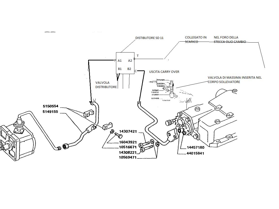 Schema Elettrico Per Rimorchio Agricolo : Schema cambio trattore fiat fare di una mosca