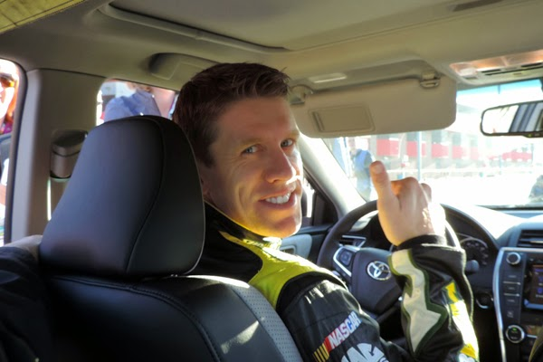 """Smiling """"Cousin Carl"""" Was A Great Pace Car Driver!"""