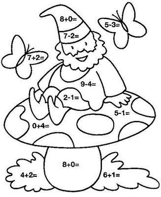 Laminas para aprender a sumas y restar  Dibujo  Page 2