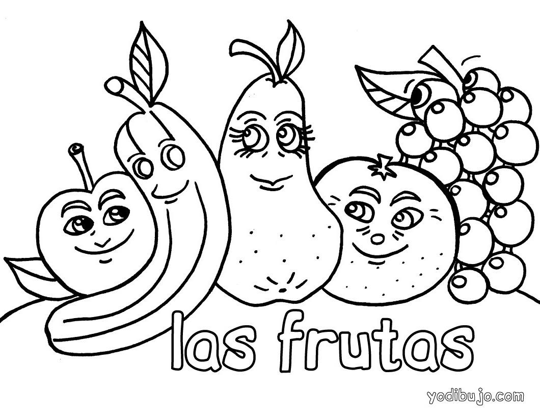 Blog MegaDiverso: Mas frutas para colorear