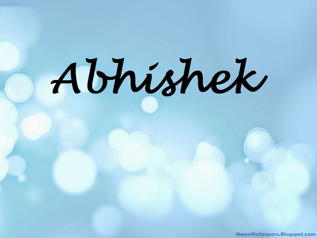 Abhishek name