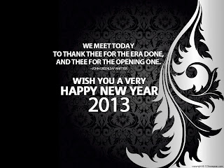 elegant wallpaper new year 2013