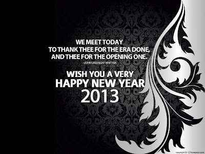 Ucapan Tahun Baru 2013 Lewat Sms