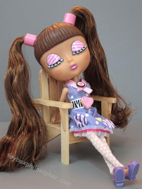 "Modern Pair of White Rhumba Doll Panties w//rose Deco for 10/"" Tiny Terri Lee Doll"