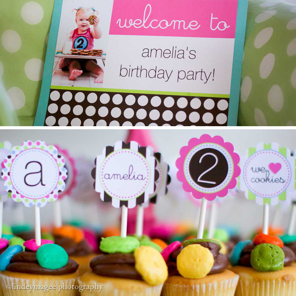Birthday sale the tomkat studio blog -  Sweet Customers Milk Cookies Birthday Party