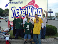 2013 Packers tickets