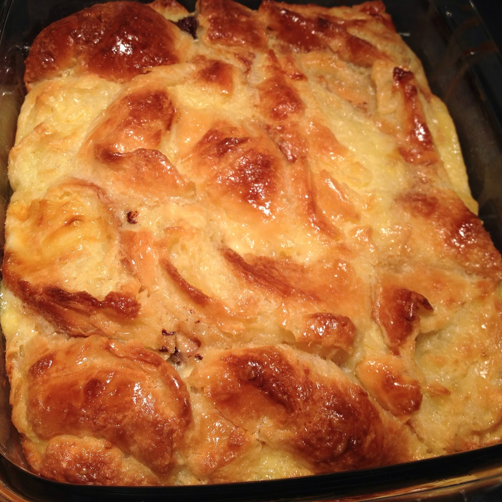 Simply Sweet Blog...: Croissant Bread Pudding