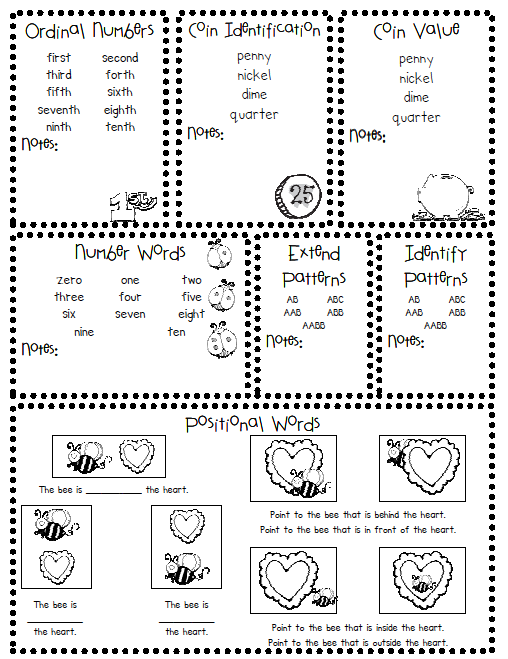 Declarative image throughout kindergarten readiness test free printable