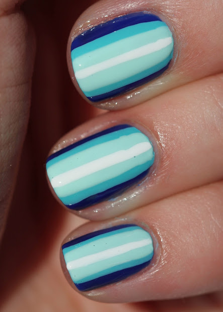 fundamentally flawless blue ombre