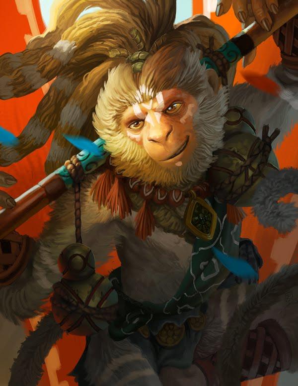 Mono Año Nuevo Chino