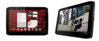 Motorola XOOM 2 and Media Edition Android 3.2 Honeycomb tablets
