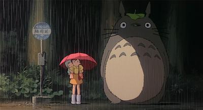 Totoro fermata bus