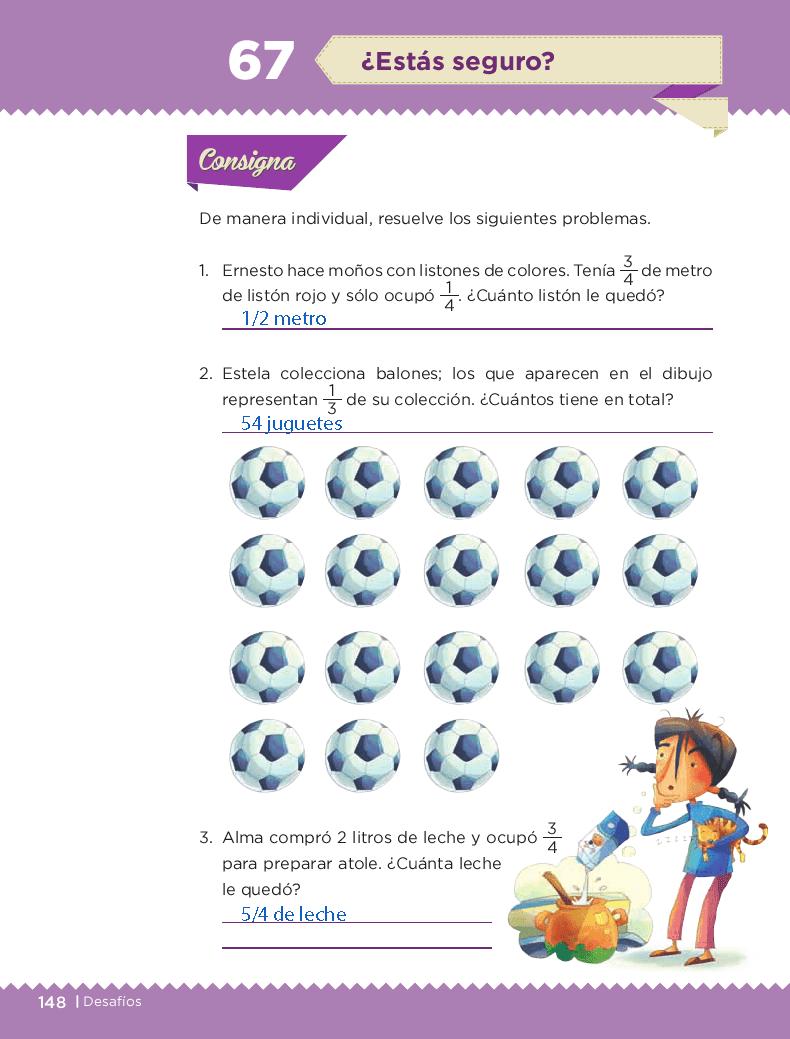¿Estás seguro? Desafios matemáticos 3ro bloque 5/2014-2015