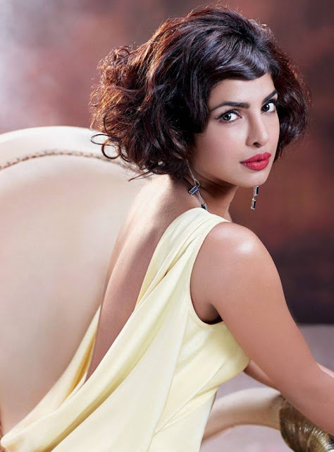 Priyanka Chopra Latest Photoshoot Stills For Hello Magazine October 2015