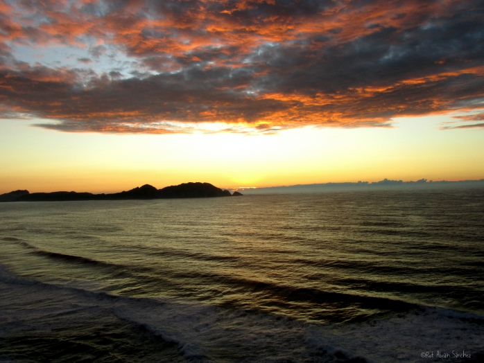 Puesta de sol en cabo Home - Esturirafi - (c)Rut Abrain Sanchez