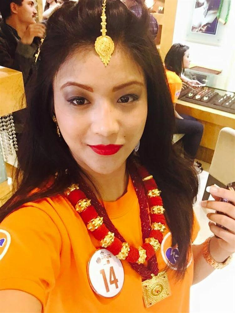 Evana Manandhar 2015 Miss Nepal
