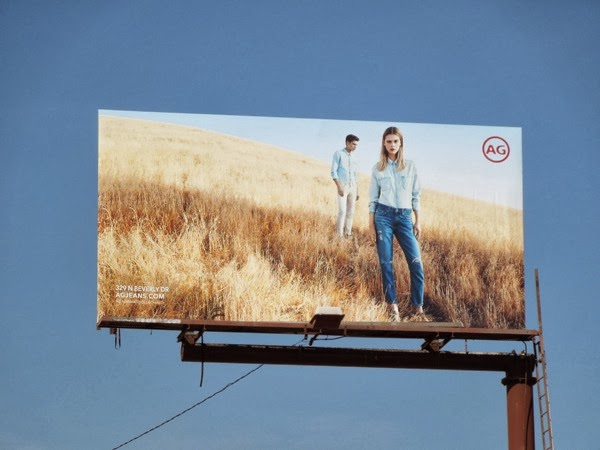 AG Jeans Spring 2014 billboard
