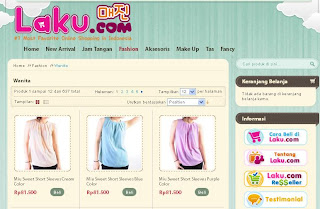 Laku.com Solusi belanja online murah
