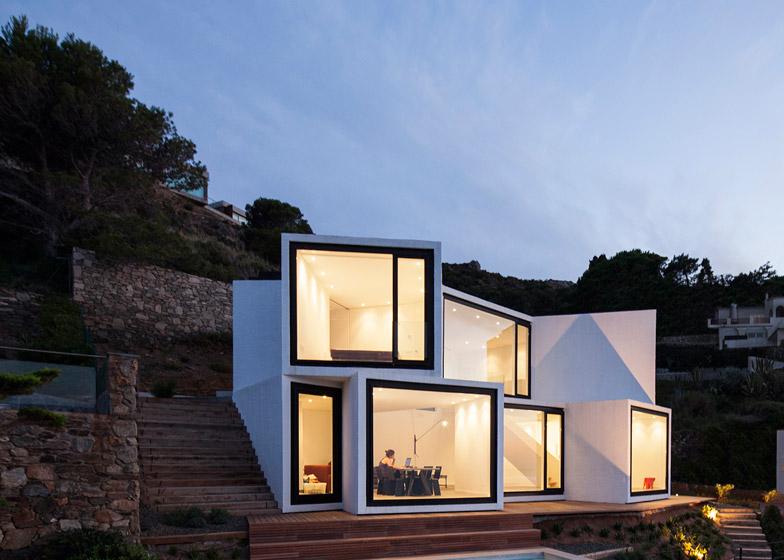 Villa con 10 viste sul Mar Maditerraneo in Costa Brava by Cadaval ...