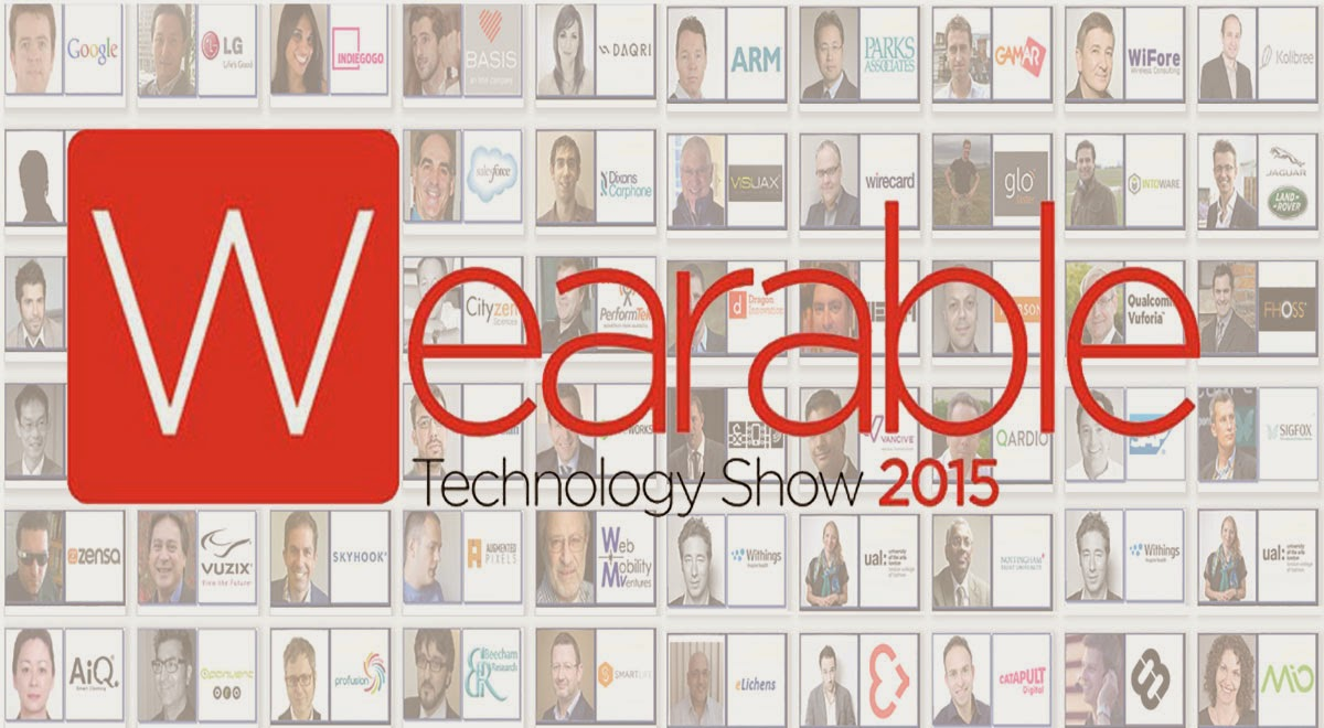 穿戴式科技展,展出最新紡織品應用 | Wearable Technology Show 2015