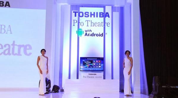 Toshiba Pamerkan Televisi Ultra HD 4K Pro Theatre L9300