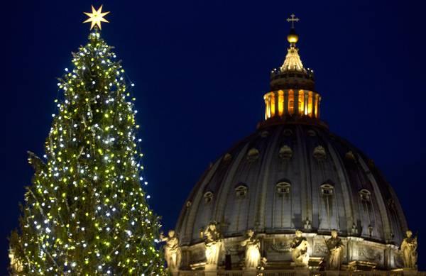 accensione%2Balbero L incredibile  albero di Natale realizzato da 500 ragazzi    Video