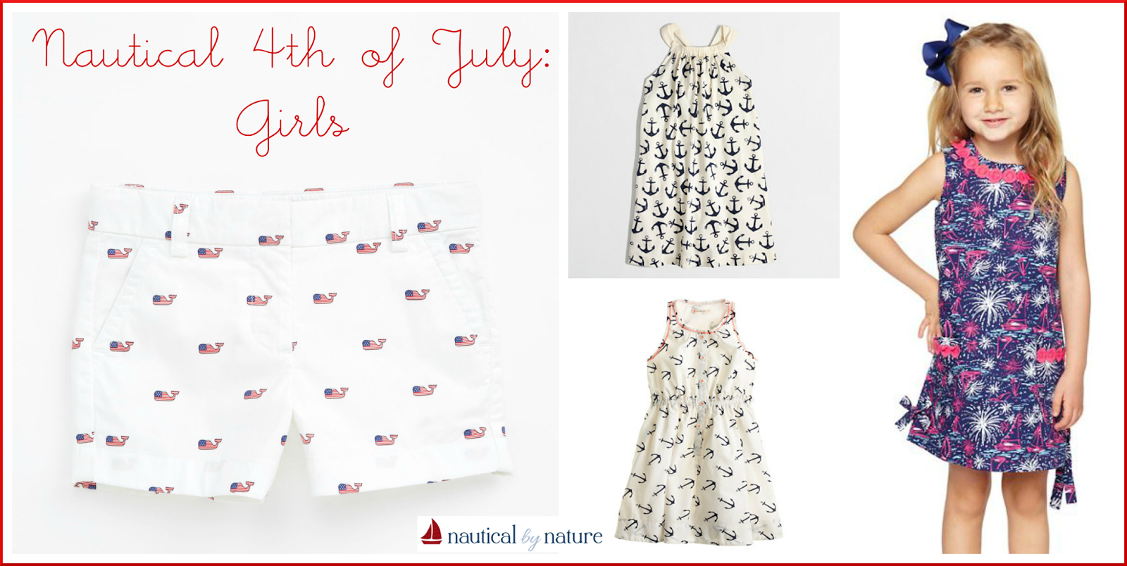 Nautical by Nature | 4th of July: Girls