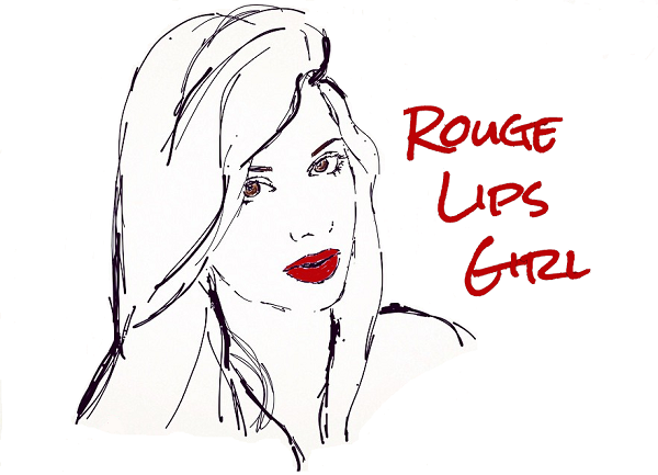Rouge Lips Girl