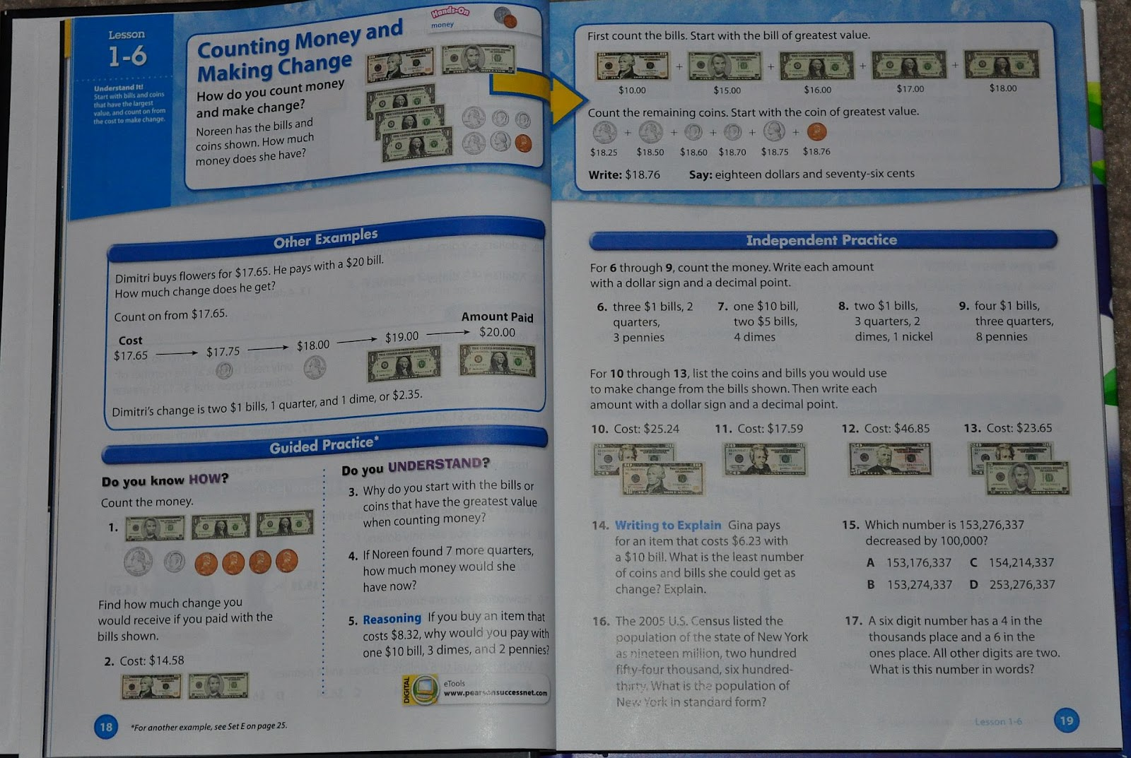Our Homeschool Reviews: Pearson Homeschool enVisionMATH Review