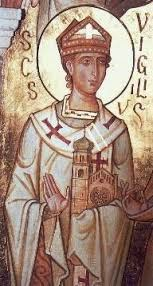 QUANDO SI FESTEGGIA SAN VIRGILIO APOSTOLO ?