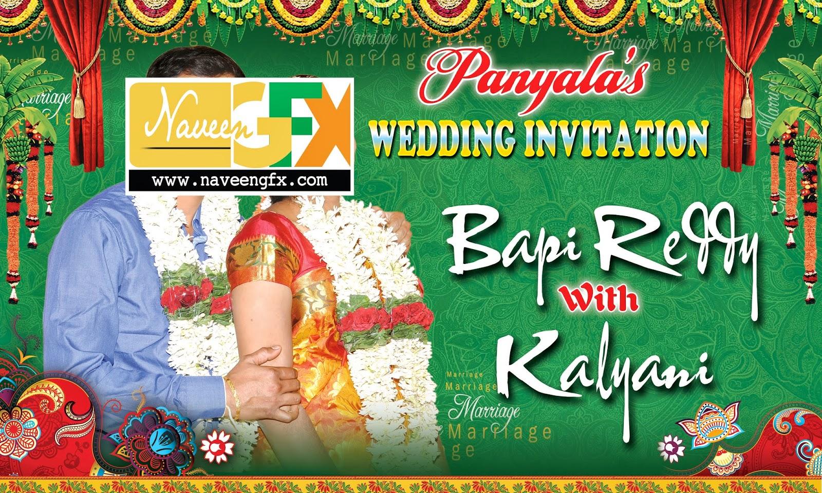 Indian wedding banner templates
