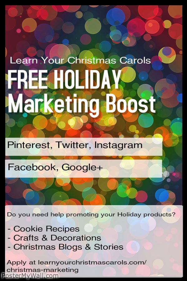 marketing your Christmas crafts and recipes