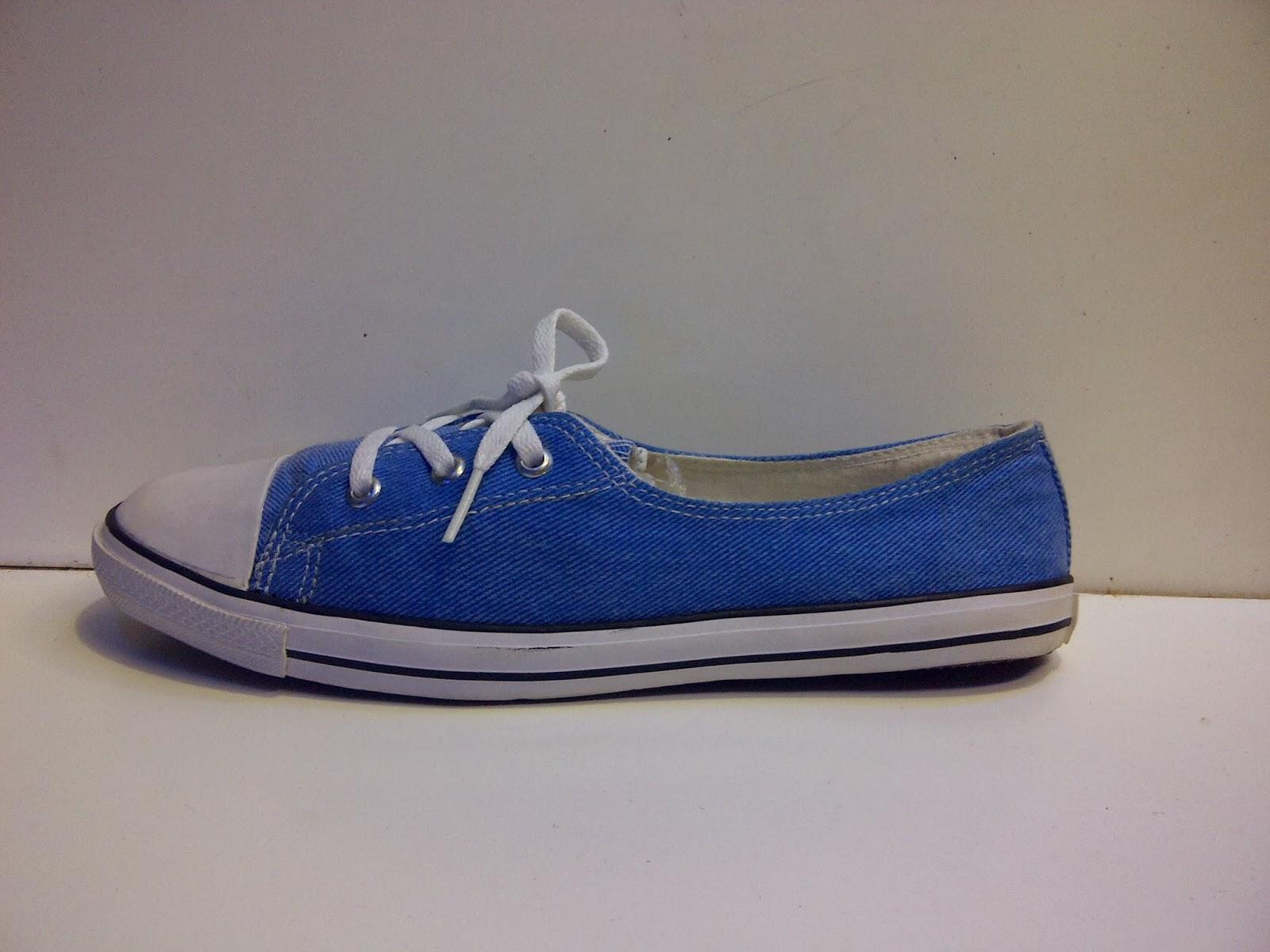 Sepatu Converse Slop Women's biru grosir,converse biru,sepatu sekolah