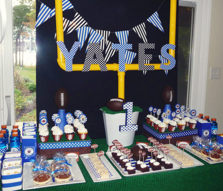 Gallery For gt Football Party Centerpieces