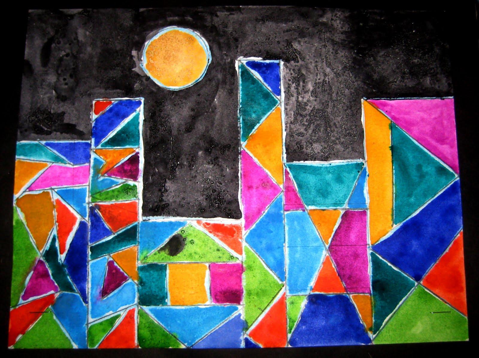 What Is Shape In Art : Mrs art teacher paul klee cities