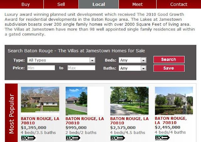 Villas At Jamestown Baton Rouge For Sale
