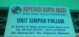 Lowongan Kerja Kolektor KSP Surya Abadi Makassar