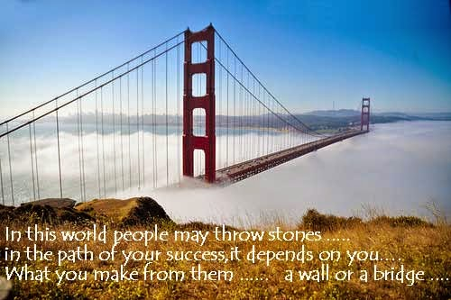 Challenge Quotes - In this world people