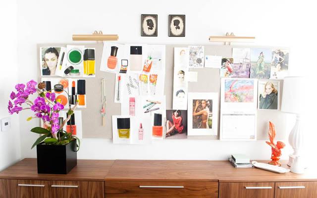 стильный женский офис