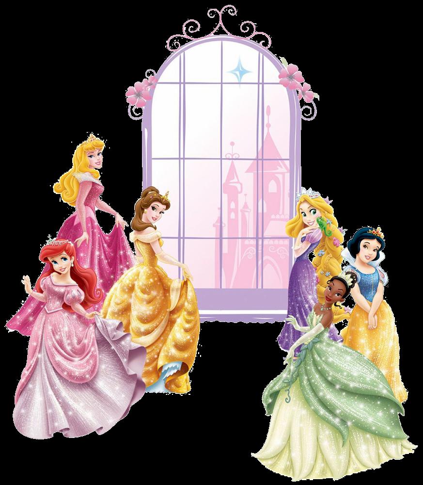 Princesas disney en el baile