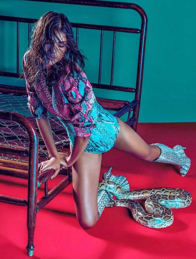 Carolinne Prates HQ Pictures Elle Brazil Magazine Photoshoot February 2014