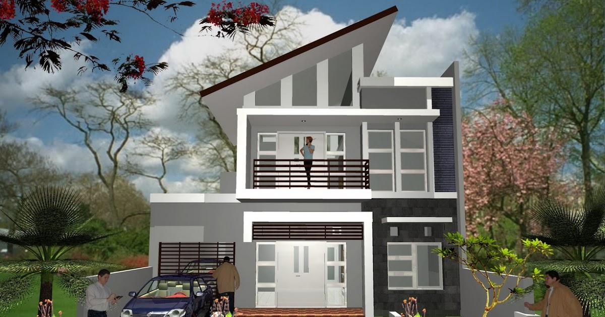 contoh desain rumah minimalis indah architecture design