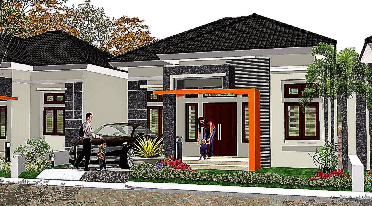 Model Rumah 8x8 1lantai  Rumah Minimalis