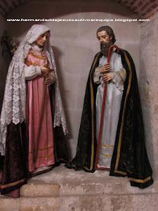 Julio - San Joaquín y Santa Ana - Templos de Santo Domingo y San Agustín