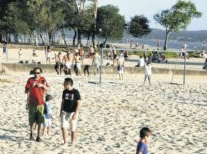 Playa Artilleros, Colonia uruguay