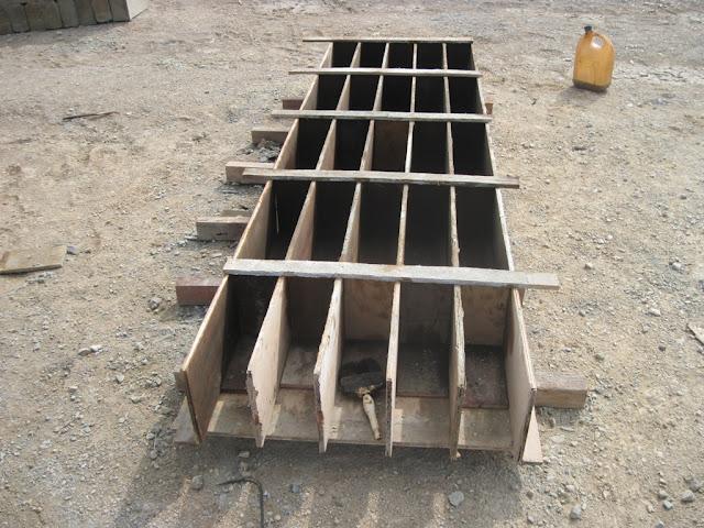 bekisting sloof beton precast