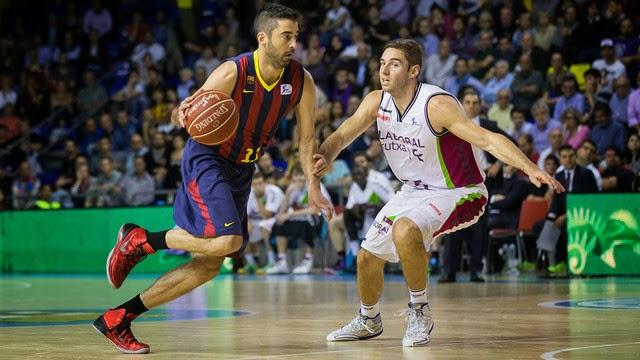 El Barça sufrió y ganó en el Palau al Laboral Kutxa