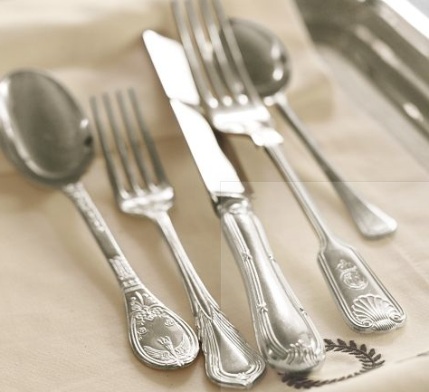 Pottery Barn Mismatched Sheffield Heirloom Flatware