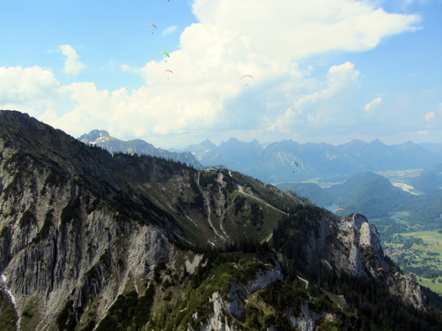 Gleitschirmflug Tegelberg