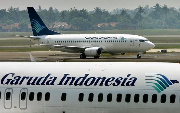 Indonésia: CENTENAS DE PILOTOS DA GARUDA INICIARAM GREVE DE 24 HORAS